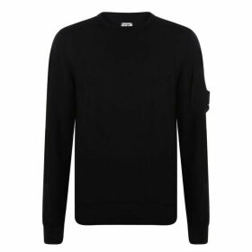 CP Company Arm Logo Sweater