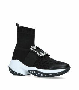 Viv' Run Sock Strass Sneakers