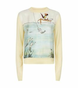 Babar Sea Print Sweater