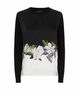 Bellae Opal Print Sweater