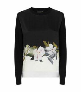 Bellae Opal Print Sweater