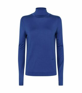 Rollneck Silk Top