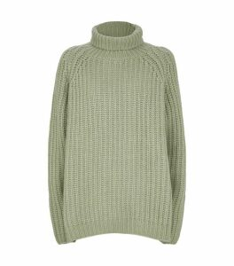 Ribbed Cashmere and Silk Sweater