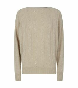 Cashmere Sequin Sweater