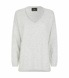 Swarovski Crystal-Embellished Cashmere Sweater
