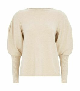 Cashmere Bell Sleeve Sweater