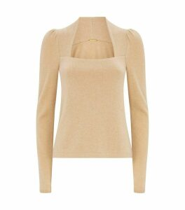 Cashmere Square Neck Sweater