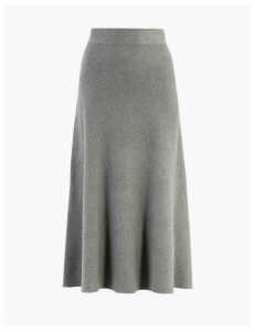 M&S Collection Knitted Midi Skirt