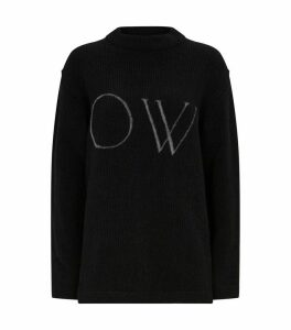 Oversized Logo Sweater