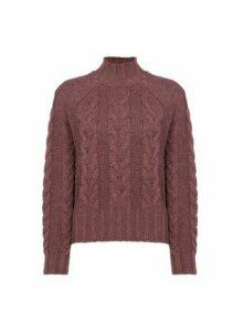 Womens **Vero Moda Coral Knit Jumper, Coral