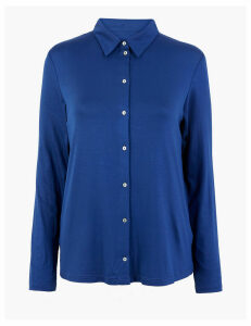 M&S Collection Long Sleeve Regular Fit Shirt