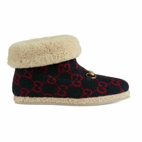 Women's GG wool ankle boot