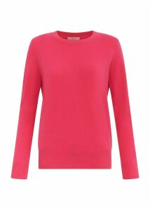 Freya Cashmere Sweater Hot Pink