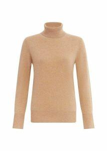 Adela Cashmere Sweater Camel XL