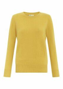 Freya Cashmere Sweater Saffron