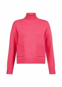 Carla Sweater Hot Pink XL