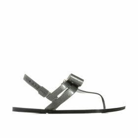 Womens Glaze Bow Sandals