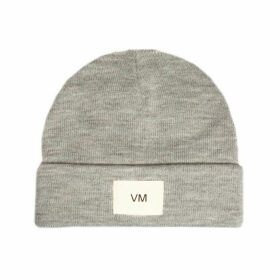 Vero Moda Womens Mari Beanie Hat Size One Size in Grey