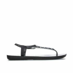 Womens Braid Charm Sandals