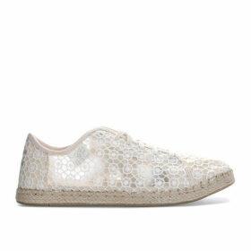 Womens Lena Mosaic Mesh Espadrille Sneakers