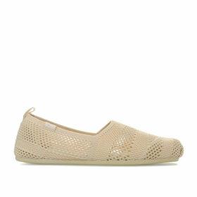 Skechers Womens BOBS Plush - Twiggy Pumps Size 7 in Cream