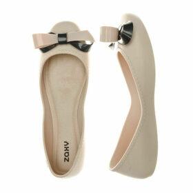 Womens Start Ribbon Bow Shoes