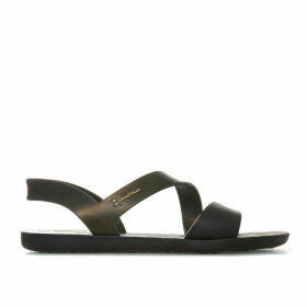 Ipanema Womens Vibe Sandals Size 3 in Black