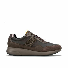 Geox Womens Ophira Trainers Size 7.5 in Brown
