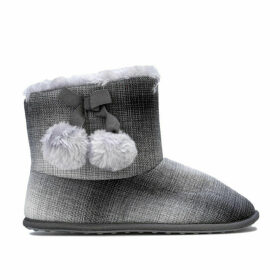 Rocket Dog Womens Snowflake Squad Bootie Slippers Size 7 in Grey
