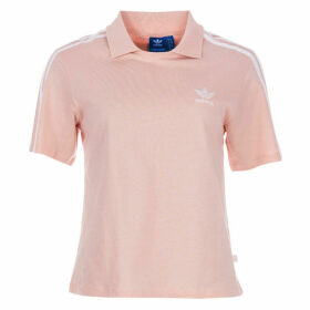 adidas Originals Womens Polo T-Shirt Size 20 in Pink