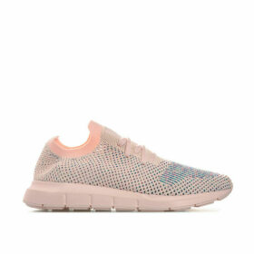 adidas Originals Womens Swift Run Primeknit Trainers Size 4 in Pink