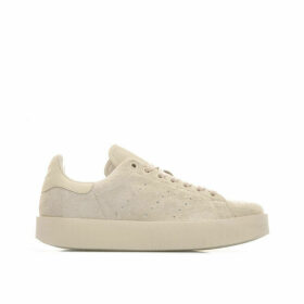 adidas Originals Womens Stan Smith Bold Trainers Size 3.5 in Cream