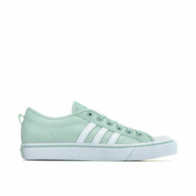 adidas Originals Womens Nizza Trainers Size 5 in Green