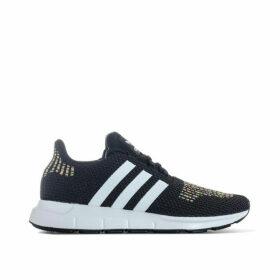 adidas Originals Womens Swift Run Trainers Size 3.5 in Black