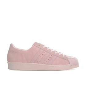 adidas Originals Womens Superstar 80's Metal Toe Trainers Size 6 in Pink