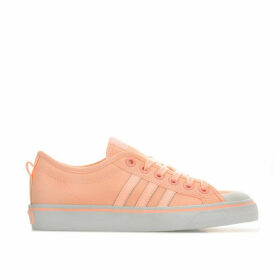 adidas Originals Womens Nizza Trainers Size 4 in Orange