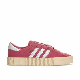 adidas Originals Womens Sambarose Trainers Size 4 in Pink