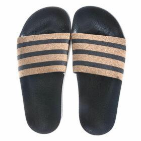 adidas Originals Womens Adilette Slide Sandals Size 5 in Black