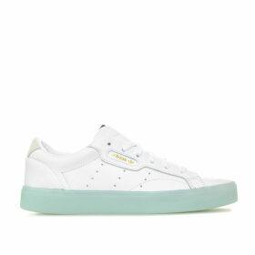 adidas Originals Womens Sleek Trainers Size 6.5 in White