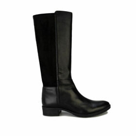 Geox Womens Laceyin Knee High Riding Boots Size 4 in Black