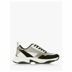 Dune Eira Contrast Panel Chunky Trainers