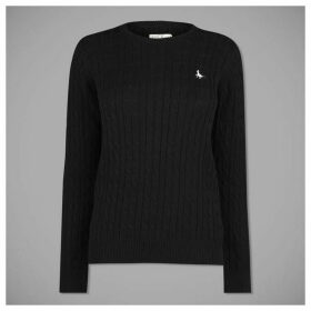 Jack Wills Tinsbury Metallic Cable Jumper