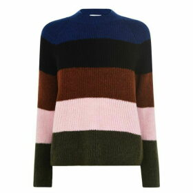 Only Jade Stripe Knit Sweater