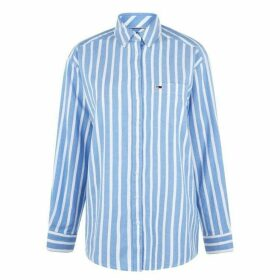 Tommy Jeans Washed Shirt - SERENITY