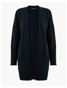 M&S Collection Lola Ribbed Edge to Edge Cardigan