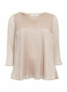 Blush Sparkle Sequin Detail Top, Blush