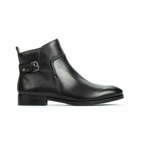 Royal W4D Leather Ankle Boots