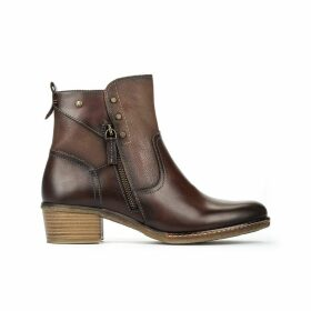 Zaragoza W9H Leather Ankle Boots