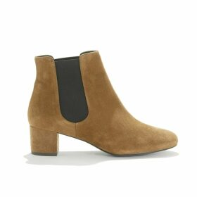 Suede Heeled Boots