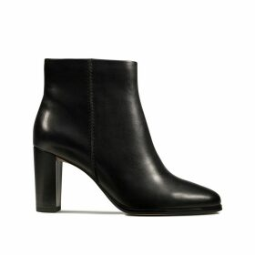 Kaylin Fern Heeled Leather Boots